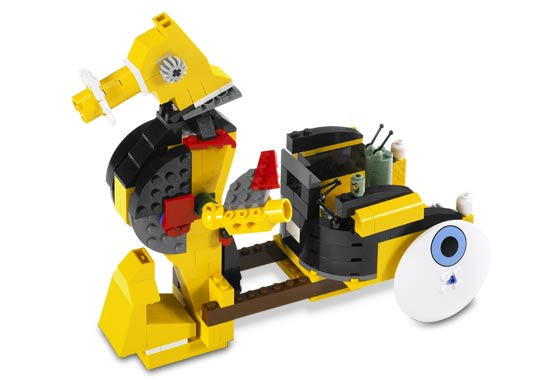 Precut Custom Replacement Stickers voor Lego Set 3826 2006 Build-A-Bob