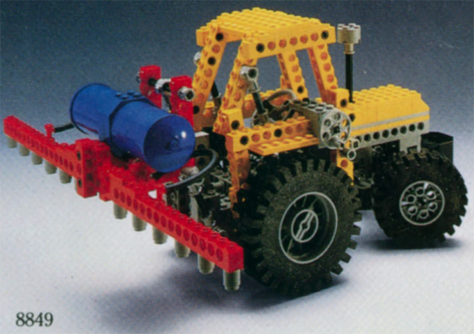 BrickLink - Set 8849-1 : Lego Tractor [Technic:Model:Farm] - BrickLink  Reference Catalog