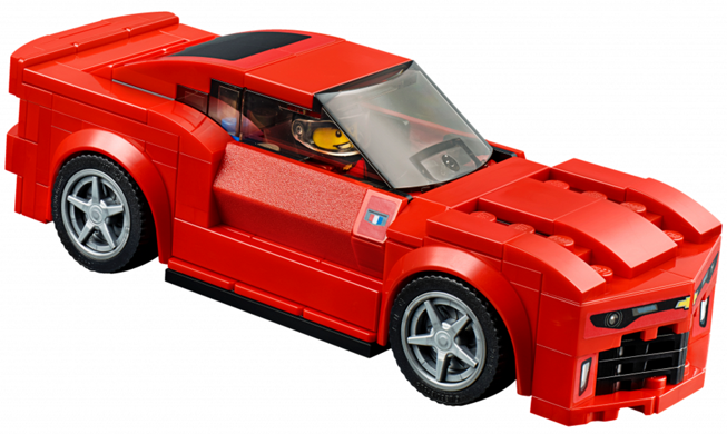 Bricklink Set 75874 1 Lego Chevrolet Camaro Drag Race Speed