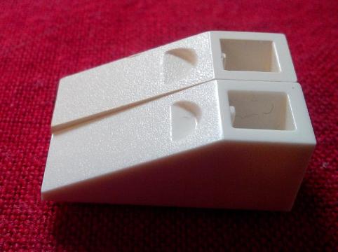 LEGO 20 x Dachstein Schrägstein rot Red Slope Inverted 33 3x1 4287