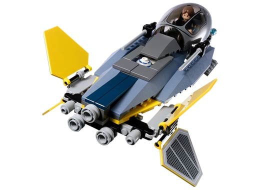 Bricklink Set 7256 1 Lego Jedi Starfighter Vulture Droid Star