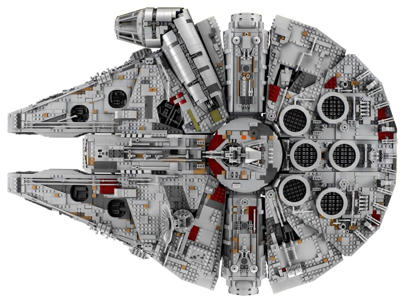 BrickLink - Set 75192-1 : Lego Millennium Falcon - UCS (2nd edition ...