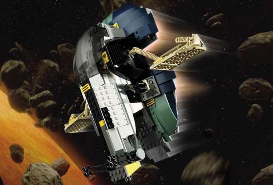 BrickLink - Set 7153-1 : Lego Jango Fett's Slave I [Star Wars:Star Wars  Episode 2] - BrickLink Reference Catalog