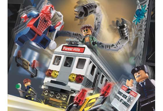 BrickLink - Set 4855-1 : Lego Spider-Man's Train Rescue  [Spider-Man:Spider-Man 2] - BrickLink Reference Catalog