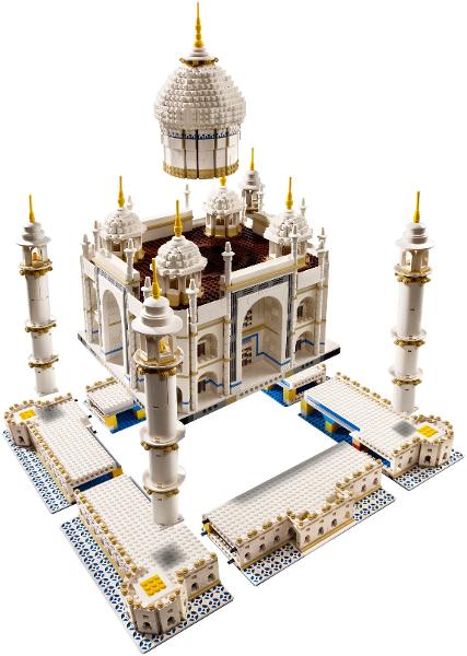 Bricklink Set 10256 1 Lego Taj Mahal Reissue Sculptures