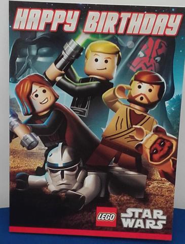 Bricklink Gear 089923174562 Lego Birthday Card Star Wars