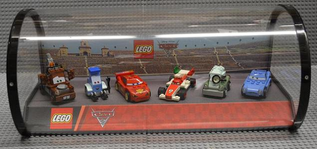 Bricklink Gear 4646117 Lego Display Assembled Set Cars 2 Six Main Characters In Plastic Case Retail Display Case Cars Bricklink Reference Catalog
