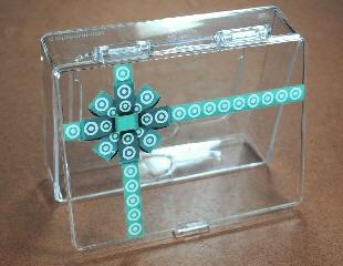 BrickLink Gear 4659758Box Lego Storage Box Plastic with Two Tone