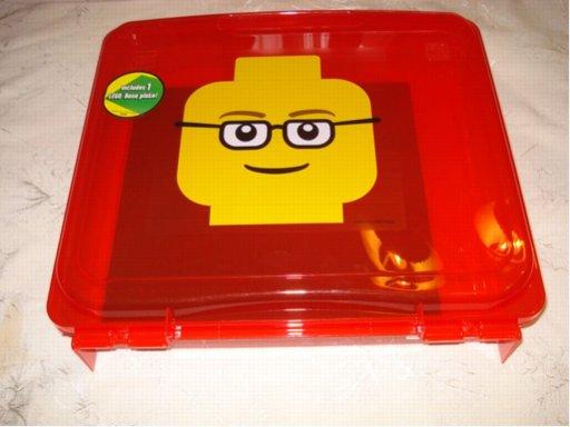 BrickLink - Gear 498934 : Lego Project Case Minifigure Head