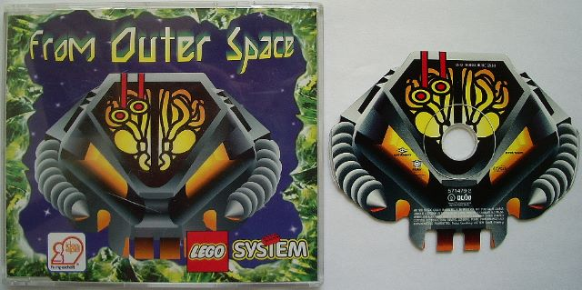 BrickLink - Gear 5714792-2 : Lego Audio CD - From Outer
