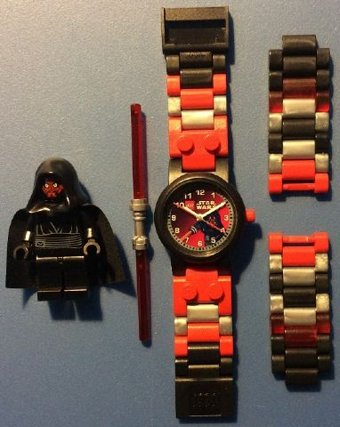 Bricklink Gear 8020332 Lego Watch Set Sw Darth Maul Watch Star Wars Bricklink Reference Catalog
