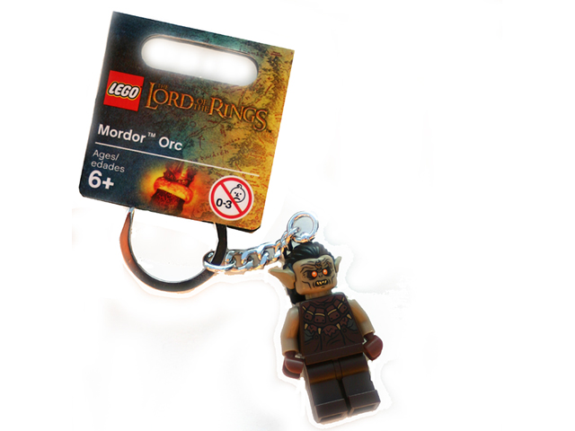 Lord of the Rings LEGO Minifigure Keychain /> 850514 Mordor Orc