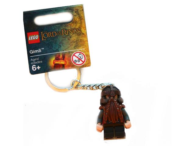 très rare Lego Gimli Porte-clés 850516 Neuf non utilisé