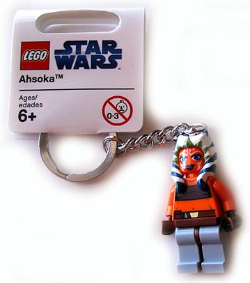 Brand New Lego Star Wars 852353 Ahsoka Keyring
