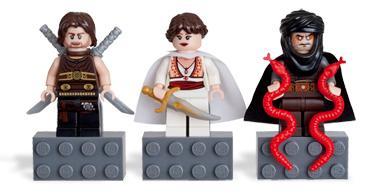 Lego Prince of Persia Figurine Mini Figurine Prince Hassansin Mini-fig