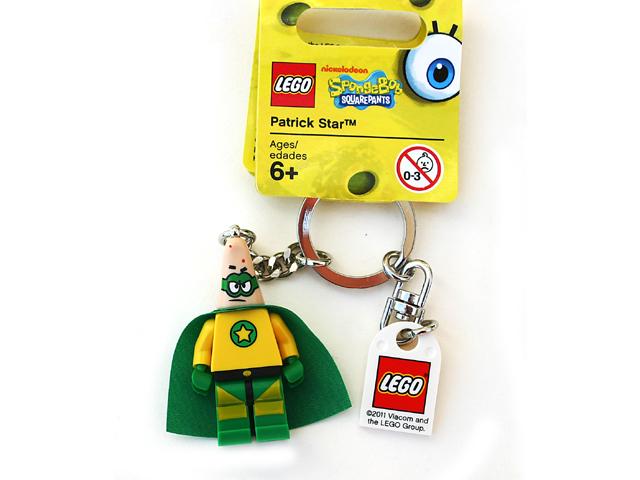 BrickLink - Gear 853357 : Lego Patrick Star Superhero Key