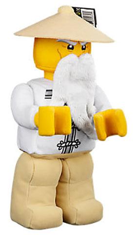 bricklink gear 853765 lego ninjago sensei wu figure plush plush