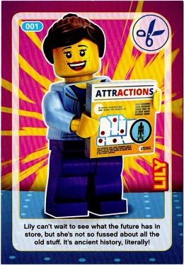 No 1 LEGO Sainsburys Create The World Incredible Inventions cards  001 all set