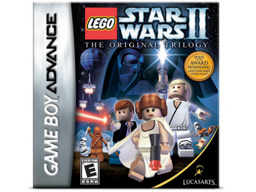 Bricklink Gear Gba960 Lego Star Wars Ii The Original Trilogy Video Game Game Boy Advance Video Game Star Wars Star Wars Episode 4 5 6 Bricklink Reference Catalog