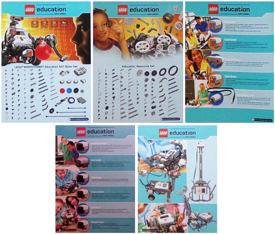 BrickLink - Gear LM991293 : Lego Mindstorms Poster, NXT Education