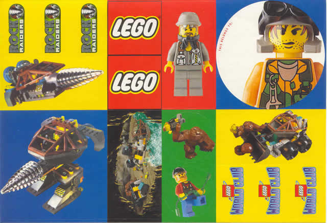 BrickLink - Gear LWCstkrr : Lego Sticker, Lego World Club - Rock ...