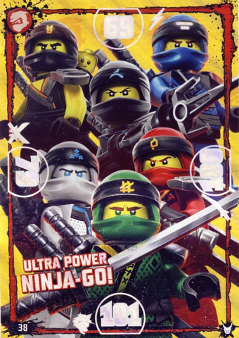LEGO® Ninjago Trading Card Game XXL Karte Nr.XXL3 Verbotenes Spinjitzu