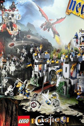 Bricklink Gear P07castle Lego Castle Poster Kings Castle Siege