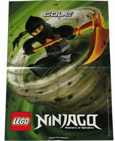 Bricklink Gear P11njo3 Lego Ninjago Poster 2011 Cole Poster