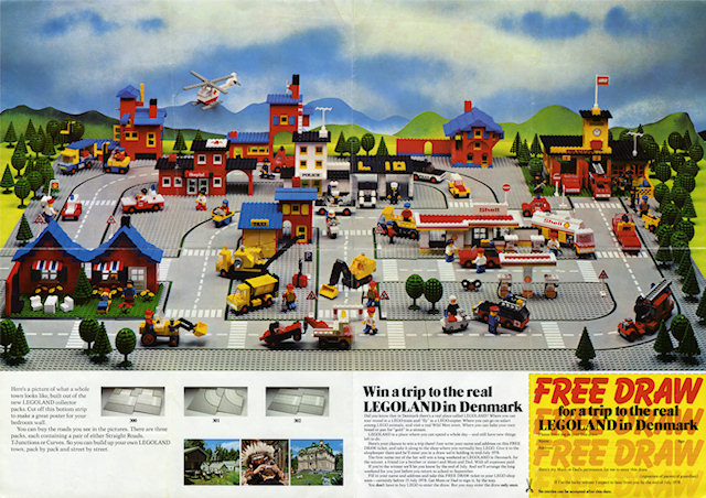 BrickLink - Gear p78ukt : Lego Town Poster 1978 with Contest (99.418 ...