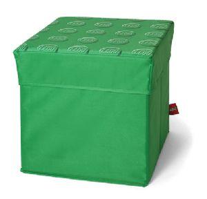 Lego Storage Stool Green 30.5 X 30.5 X 31.5