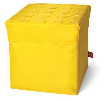 BrickLink   Gear SD377yellow : Lego Storage Stool Yellow 30.5 X 30.5 X 31.5  [Human Furniture]   BrickLink Reference Catalog