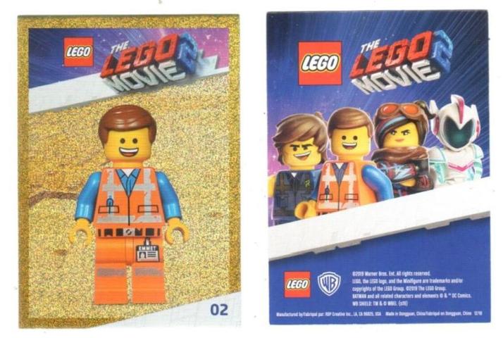 Bricklink Gear Tc19tlm02 Lego The Lego Movie 2 Card 02 Emmet
