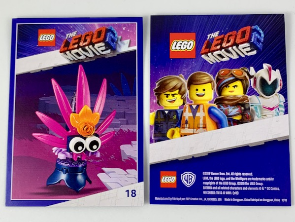 Bricklink Gear Tc19tlm18 Lego The Lego Movie 2 Card 18