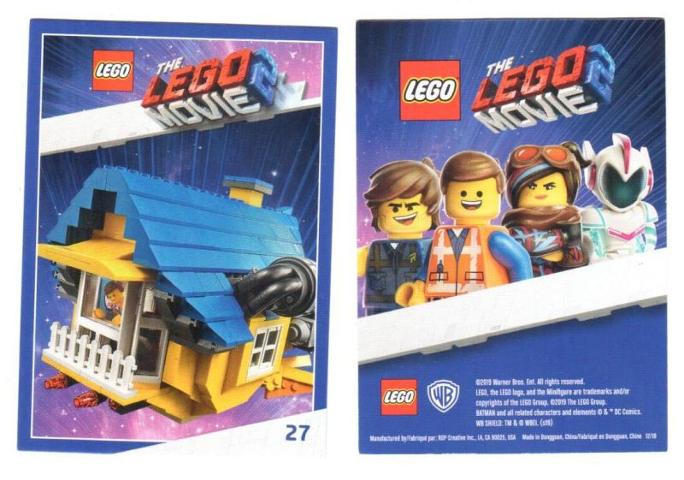 Bricklink Gear Tc19tlm27 Lego The Lego Movie 2 Card 27