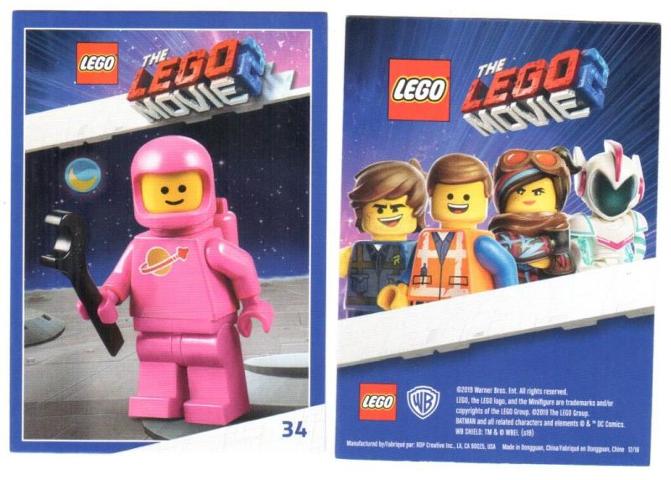 Bricklink Gear Tc19tlm34 Lego The Lego Movie 2 Card 34 Lenny