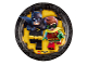 Gear No: 013051732813  Name: Food - Party Plates The LEGO Batman Movie (8pcs), Small