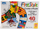 Gear No: 08095  Name: Rose Art 40 Pieces, FreeStyle Create-A-Puzzle