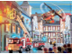 Gear No: 091584  Name: Ravensburger, City Fire in Town Puzzle (includes minifigure and LEGO elements)