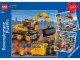 Gear No: 093694  Name: Ravensburger, City Big Vehicles Puzzle Set (3 x 49 pc)