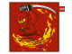 Gear No: 100223  Name: Bedding, Pillow - Ninjago Fire