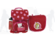 Gear No: 14028  Name: School Bag Set Heart Backpack (Small) with Cat and Sports Bottle, Girl Shoulder Bag