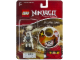 Gear No: 1648bonezai  Name: Ninjago Bonezai Key Chain with Clip-on Battle Sound Base blister pack