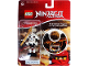 Gear No: 1648samukai  Name: Ninjago Samukai Key Chain with Clip-on Battle Sound Base blister pack