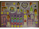 Gear No: 1685-6789  Name: Sticker, Friends, Sheet of 55