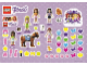 Gear No: 1685-6789b  Name: Sticker Sheet, Friends, Sheet of 51 Stickers