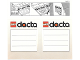 Gear No: 198353  Name: Sticker for Storage Box, Dacta