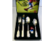 Gear No: 2036211P  Name: Food - Cutlery Set, BSF Kinderbesteck mit Klara Kuh (Fabuland Clara Cow)