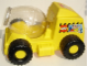 Gear No: 22470c01  Name: Duplo Storage Brick Mixer Truck with Drum and Lid (2819)