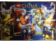 Gear No: 25062945  Name: Legends of Chima Poster, Cragger, Razar, Worriz, Eris, Laval
