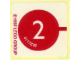 Gear No: 2536stk01  Name: Sticker for Set 2536 - (4117692)